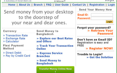 Online e-Remittance Solutions for Sonali Exchange